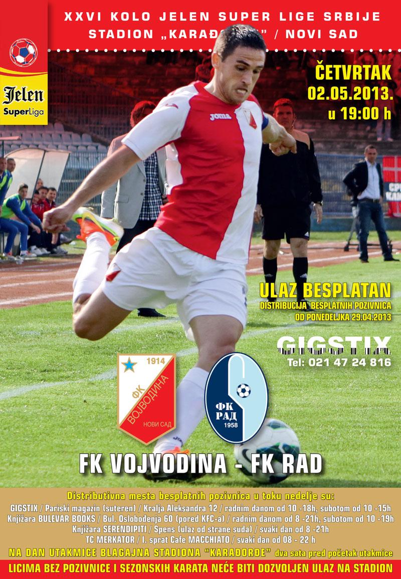 FK-Vojvodina---FK-Rad