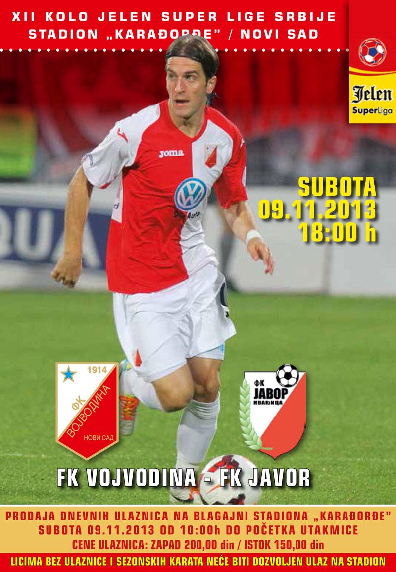 FK-Vojvodina---FK-Javor
