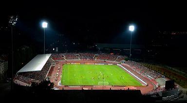 stadion, mala