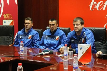 Vidak Bratić, Dragan Šarac i Nenad Lalatović
