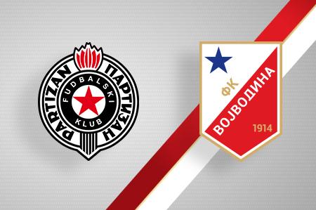 Grbovi FK Partizan i FK Vojvodina