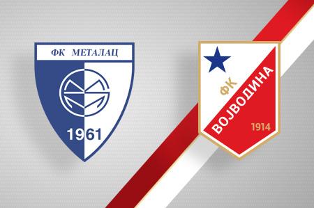 Grbovi FK Metalac i FK Vojvodina
