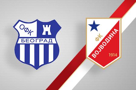 Grbovi OFK Beograda i FK Vojvodina