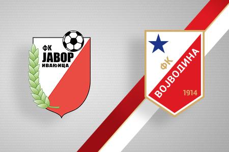 Grbovi FK Javor i FK Vojvodina