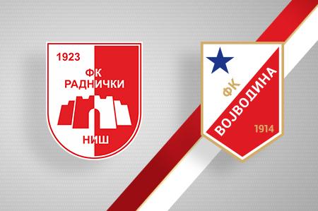 Grbovi FK Radnički i FK Vojvodina