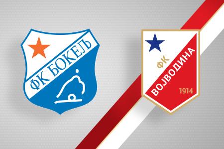 Grbovi FK Bokelj i FK Vojvodina