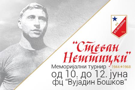 Plakat za 34. memorijalni turnir Stevan Nešticki
