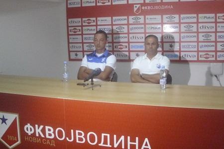Dejan Ognjanović i Slobodan Drašković