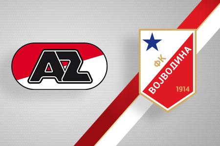 Grbovi FK AZ Alkmar i FK Vojvodina