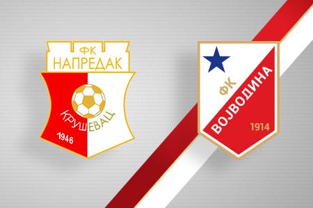 Grbovi FK Napredak i FK Vojvodina