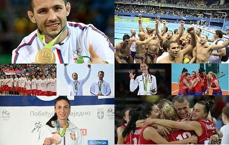 Srpski osvajači medalja na Olimpijskim igrama 2016