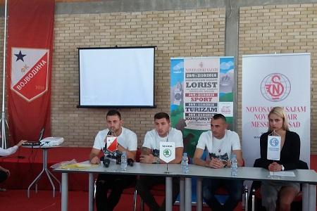 Dejan Meleg, Nikola Trujić i Dragan Šarac