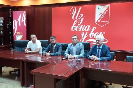Dušan Grujić, Aleksandar Dunđerski, Zoran Šćepanović i Vojislav Gajić