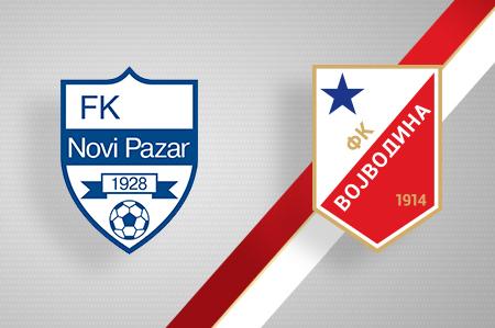 Grbovi FK Novi Pazar i FK Vojvodina