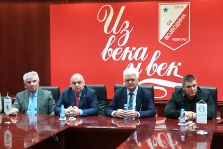 Dušan Vlaović, Dragoljub Zbiljić, Vojislav Gajić i Dalibor Bogdanović
