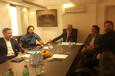 Ilija Labus, Milan Davidov, Vojislav Gajić, Božidar Beronja i Aleksandar Dunđerski