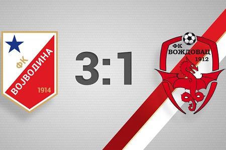 Vojvodina - Voždovac 3-1