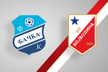 Grbovi FK Bačka i FK Vojvodina