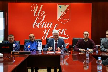 Milan Kosanović, Aleksandar Janković, Vojislav Gajić i Tom Mokford