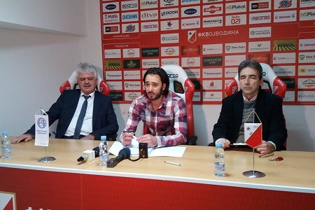 Vojislav Gajić i Milan Davidov