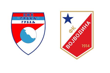 Grbovi OFK Grblja i FK Vojvodina