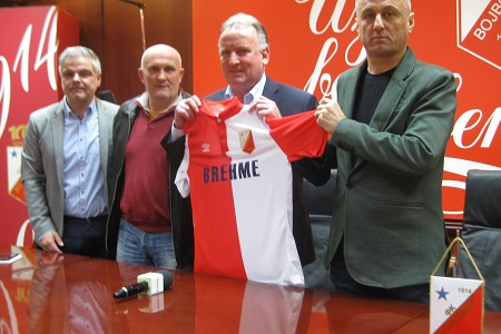 Dušan Mijić, Andreas Breme i Dragoslav Vuković