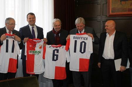 Igor Mirović, Dragoslav Stepanović i Dušan Mijić