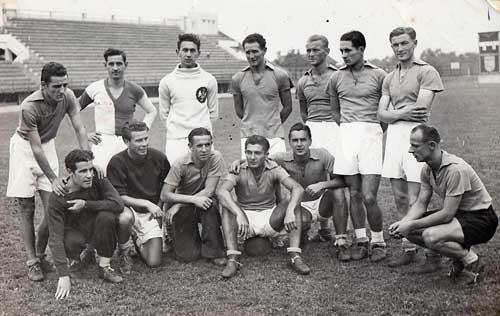 Ekipa Vojvodine iz 1940. godine