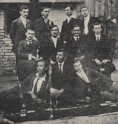 Osnivači kluba iz 1914