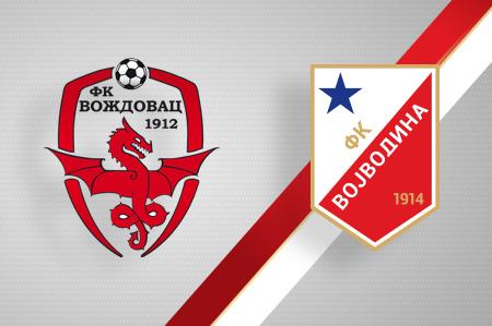 Grbovi FK Voždovac i FK Vojvodina