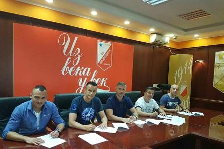 Bojan Neziri, Zoran Repac, Radoslav Batak, Milan Belić, Dragan Leskovac