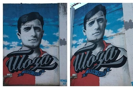 Mural Toze Veselinovića