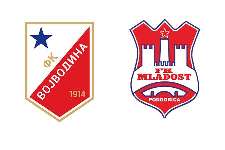 Grbovi FK Vojvodina i FK Mladost