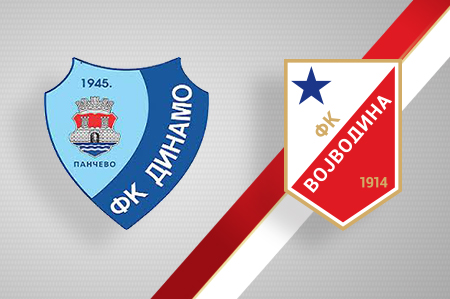 Grbovi FK Dinamo i FK Vojvodina