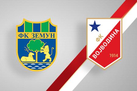 Grbovi FK Zemun i FK Vojvodina