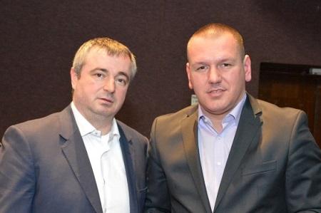 Dušan Bajatović i Darko Jevtić