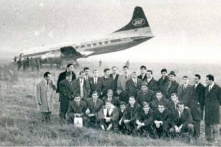 Fudbaleri Vojvodine koji su preživeli pad aviona