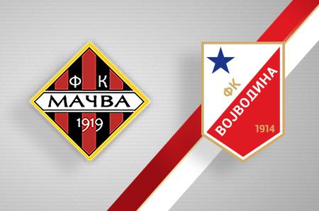 Grbovi FK Mačva i FK Vojvodina