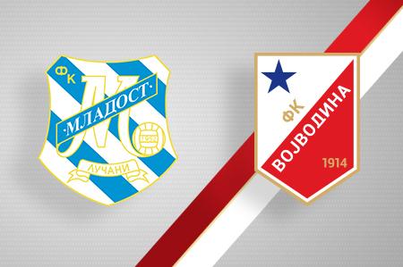 Grbovi FK Mladost i FK Vojvodina
