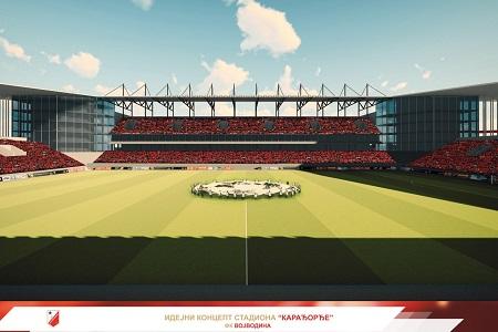 Idejni projekat stadiona Karađorđe