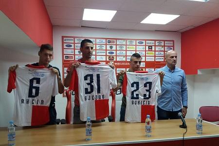 Nemanja Ahčin, Darko Bjedov, Ognjen Đuričin i Aleksandar Veselinović