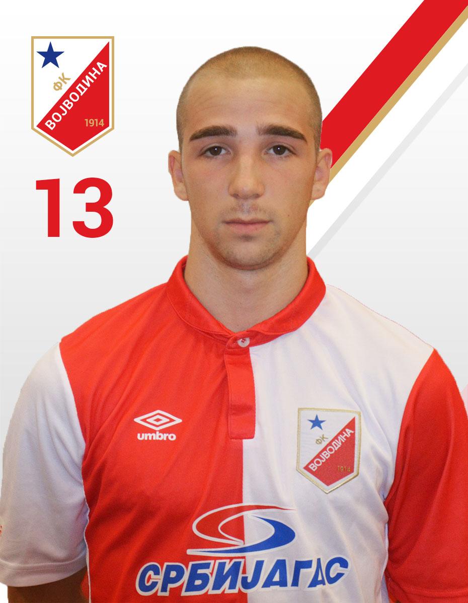 Damjan Gojkov FK Vojvodina