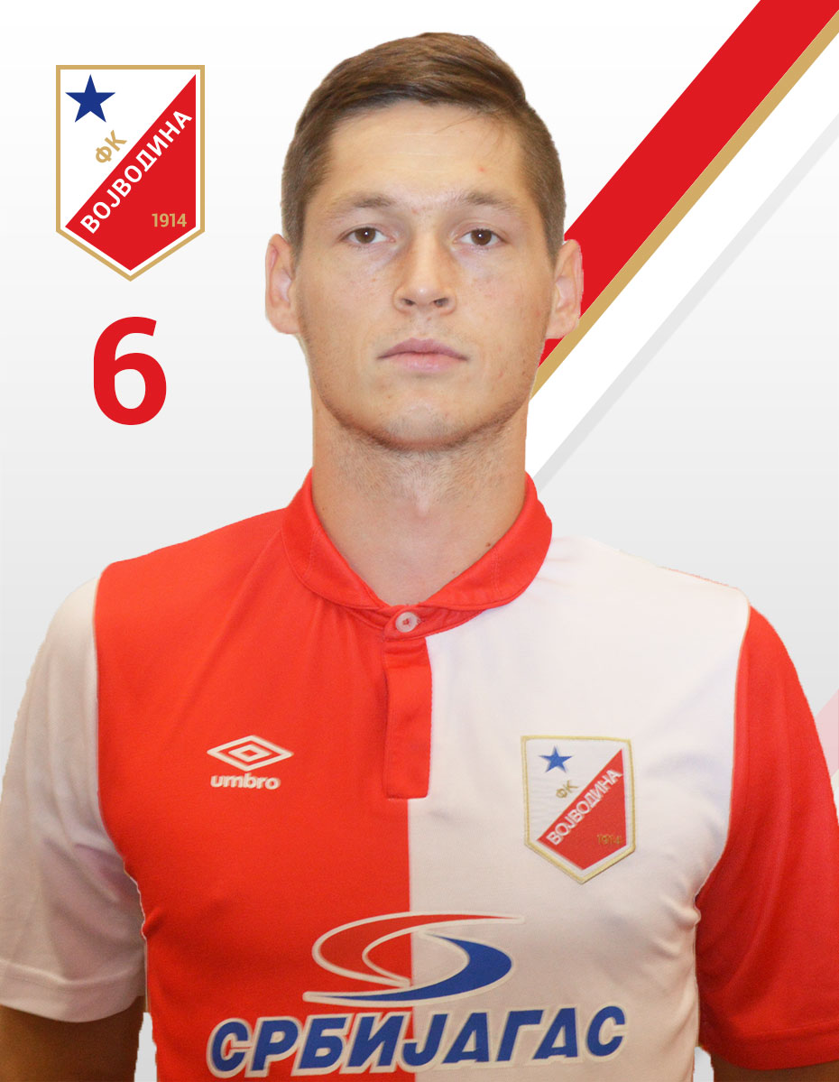 Nemanja Ahcin FK Vojvodina