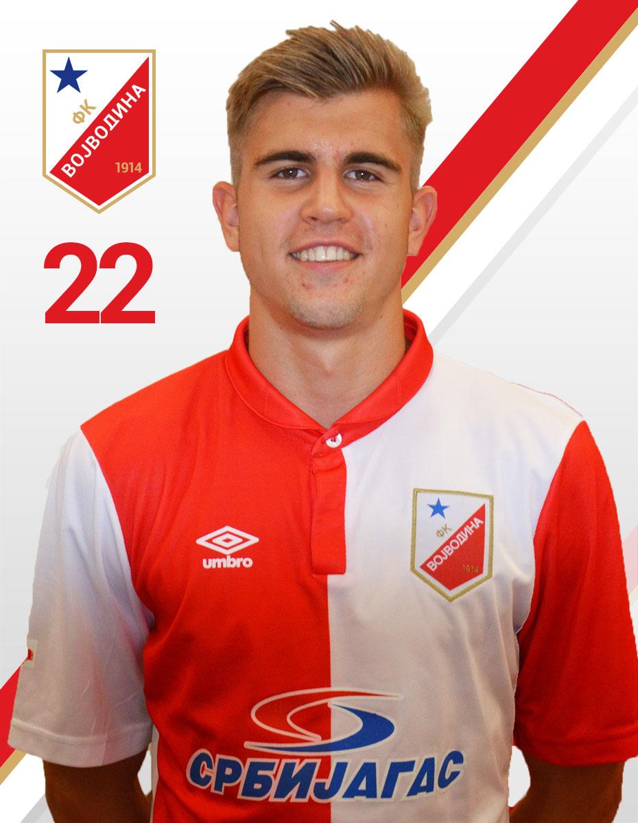 Nemanja Milojevic FK Vojvodina