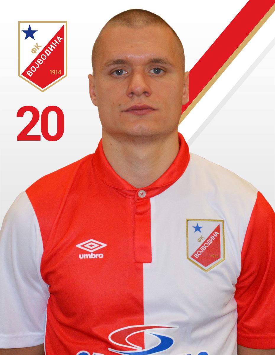 Nikola Antic FK Vojvodina