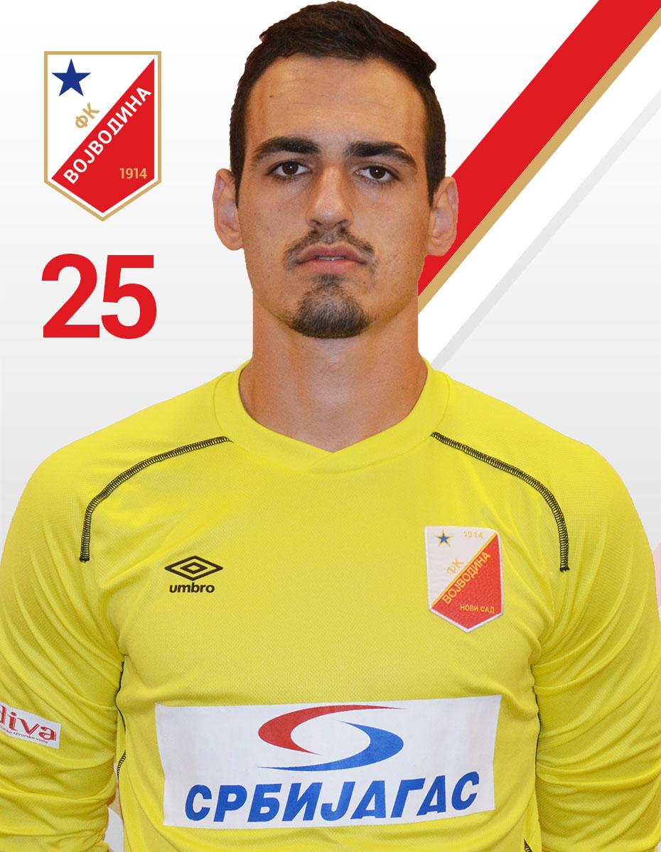 Nikola Simic 25 FK Vojvodina