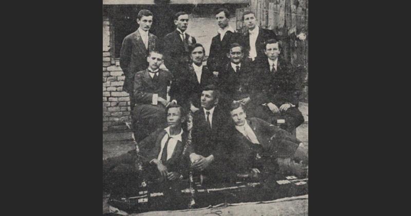Osnivači FK Vojvodinaiz 1914