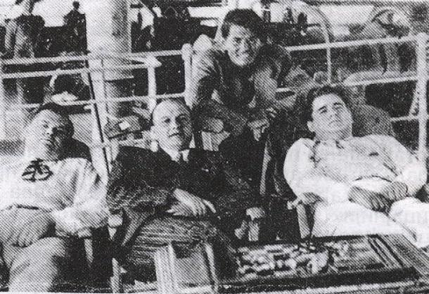 Boško Simonović, Mihajlo Andrejević, Milutin Ivković, dr Kosta Hadži