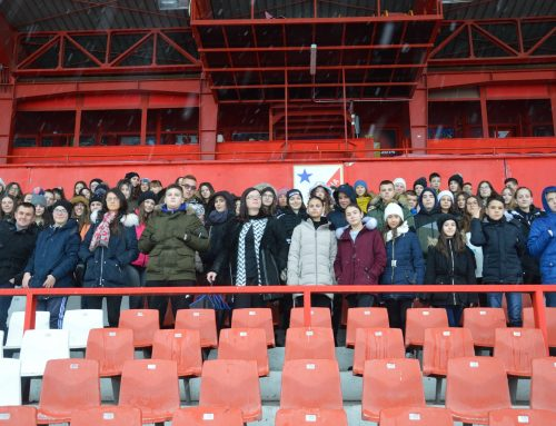 "Children from Kosovo visited the stadium ""Karadjordje"""
