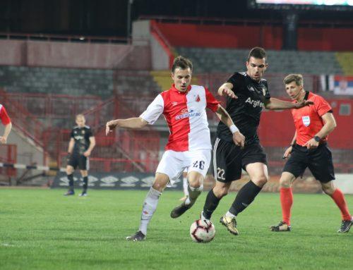 Vojvodina played a draw with Čukarički